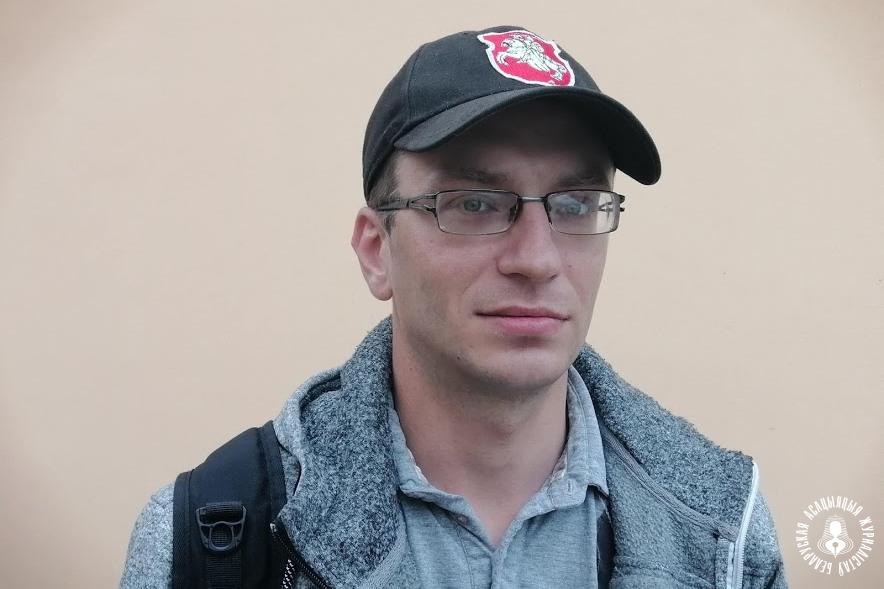 Дзяніс Рудзевіч. Фота БАЖ