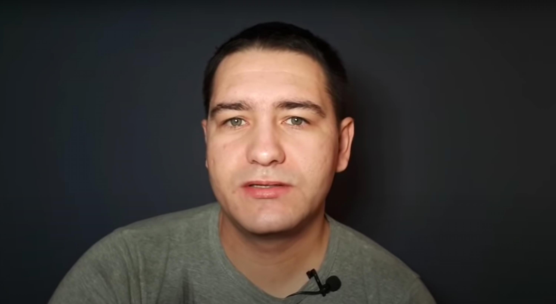 Руслан Ліннік. Скрыншот з відэароліка блогера