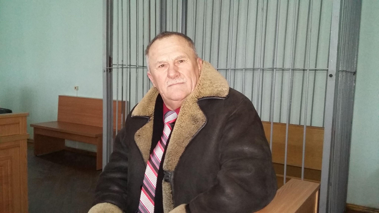 Мікалай Салянік у судзе 3 студзеня