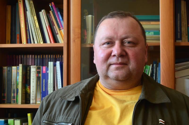 Праваабаронца Віктар Сазонаў.