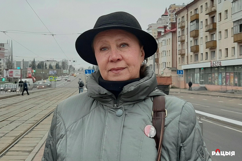 Таццяна Севярынец. Фота: Беларускае Радыё Рацыя.