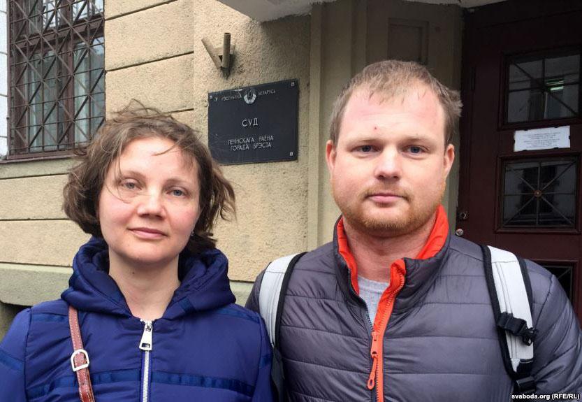 Андрэй і Паліна Шарэнды. Фота Радыё Свабода.