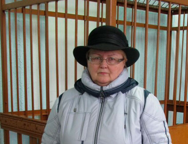 Тамара Шчапёткіна. Фота: Беларускае Радыё Рацыя.