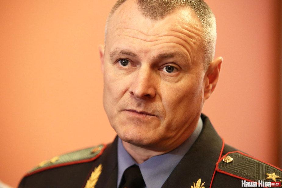Кіраўнік МУС Ігар Шуневіч. Фота: Сяргей Гудзілін / nn.by