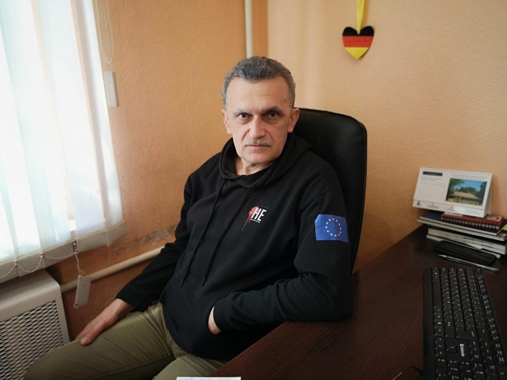 Пісьменнік і журналіст сяржук Сыс. Фота: Беларускае Радыё Рацыя.