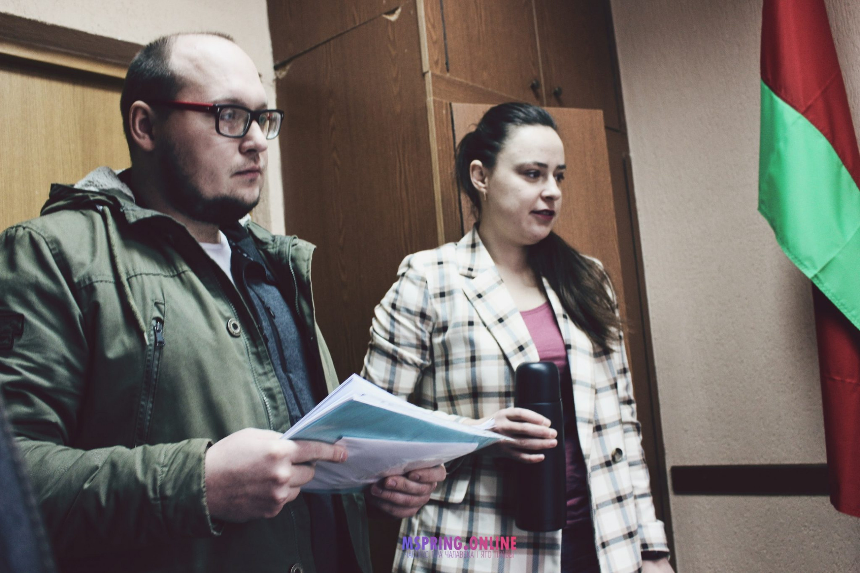 Аляксандр Сідарэўскі і Аліна Скрэбунова. Фота: mspring.online