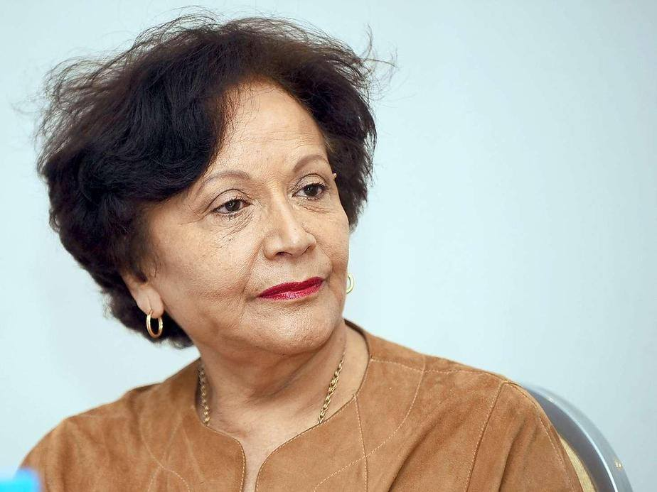 Souhayr Belhassen, honorary president of the International Federation for Human Rights
