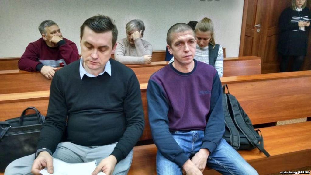 Сяргей Працэнка (справа) і Андрэй Стрыжак