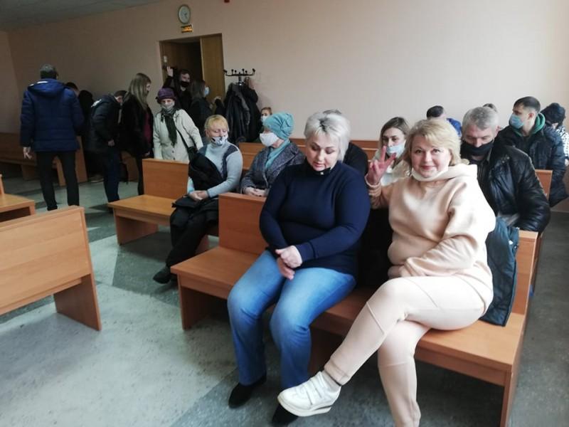 Жанна Захаркевіч і Надзея Сцепанцова. Фота Рамана Юргеля