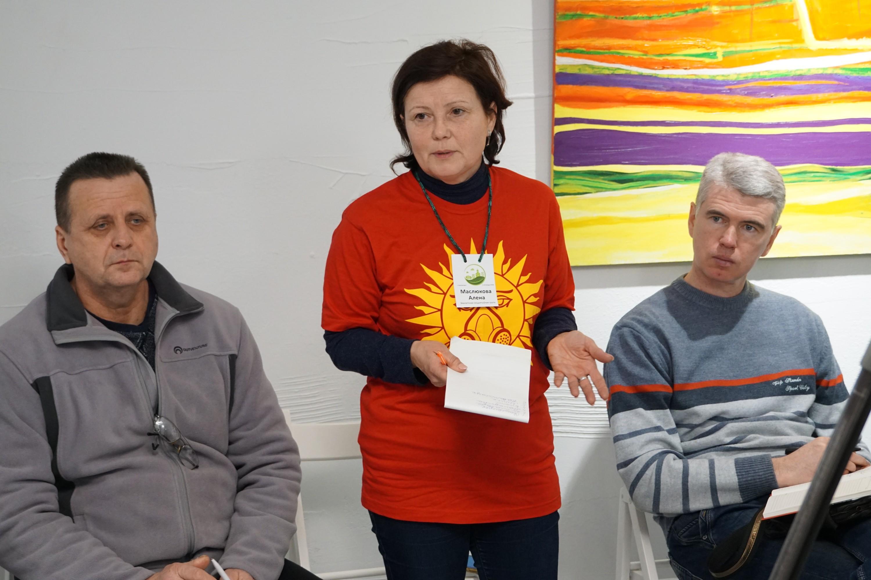 """Анатоль Змітровіч і Алена Маслюкова (злева). Фота ПЦ """"Вясна"""""""