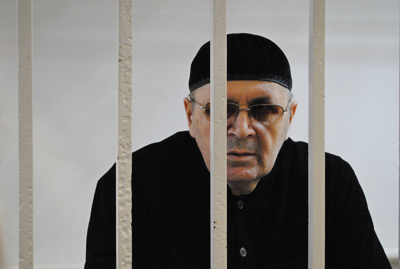 Аюб Ціціеў у судзе