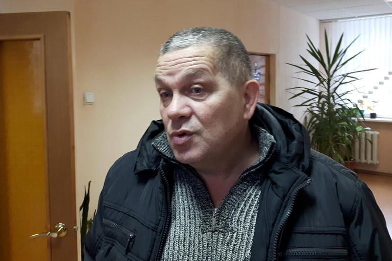 Журналіст Андрэй Толчын. Фота з сайта baj.by