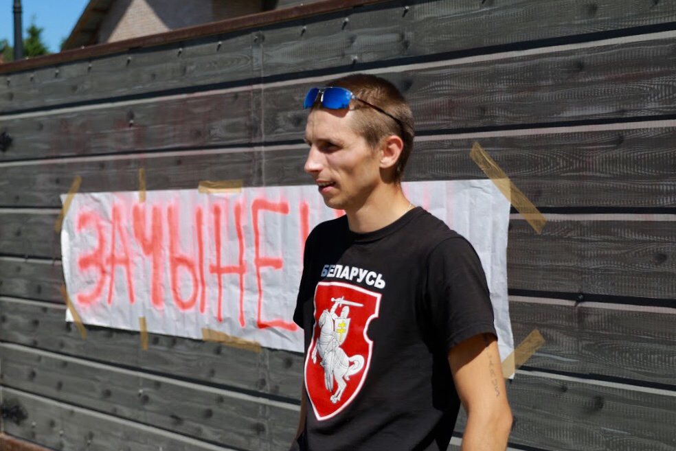 Дзяніс Урбановіч. Фота: belsat.eu