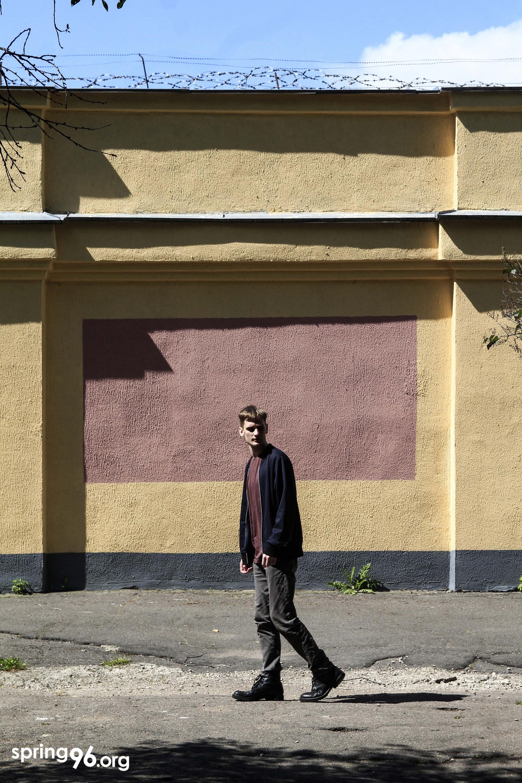 Вяргілій Ушак пасля вызвалення. Фота: spring96.org