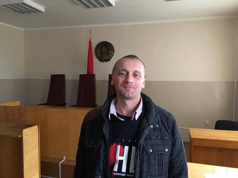 Аляксандр Вайцешык у баранавіцкім судзе