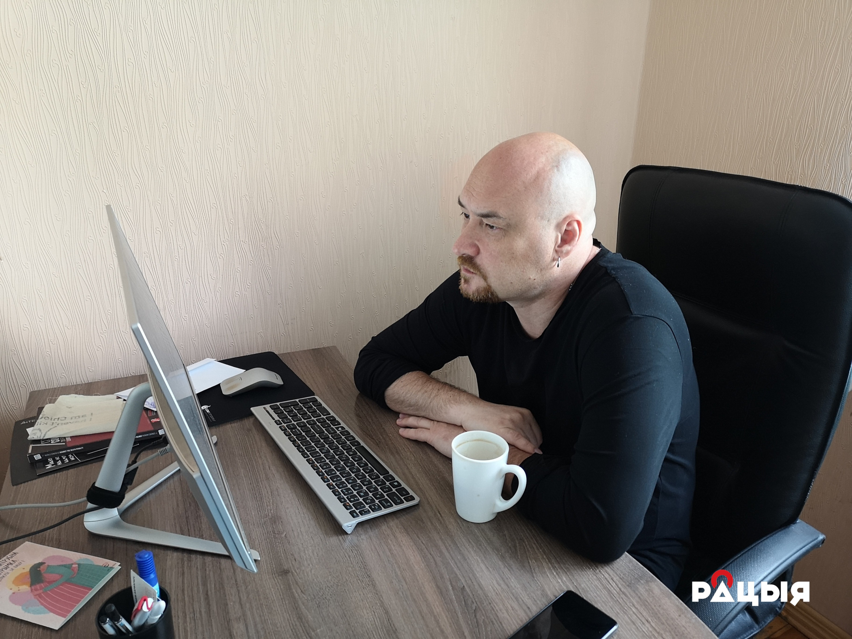 Валянцін Стэфановіч. Фота: Беларускае Радыё Рацыя.