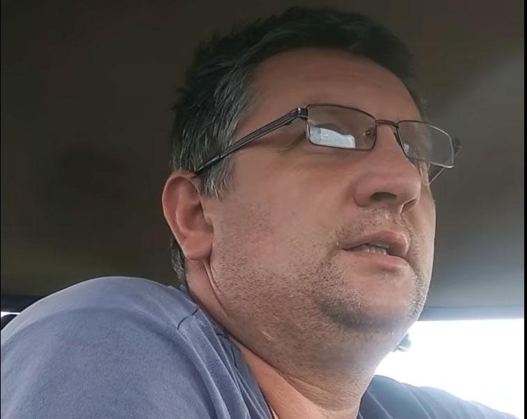 Яўген Васількоў. Скрыншот з відэа.