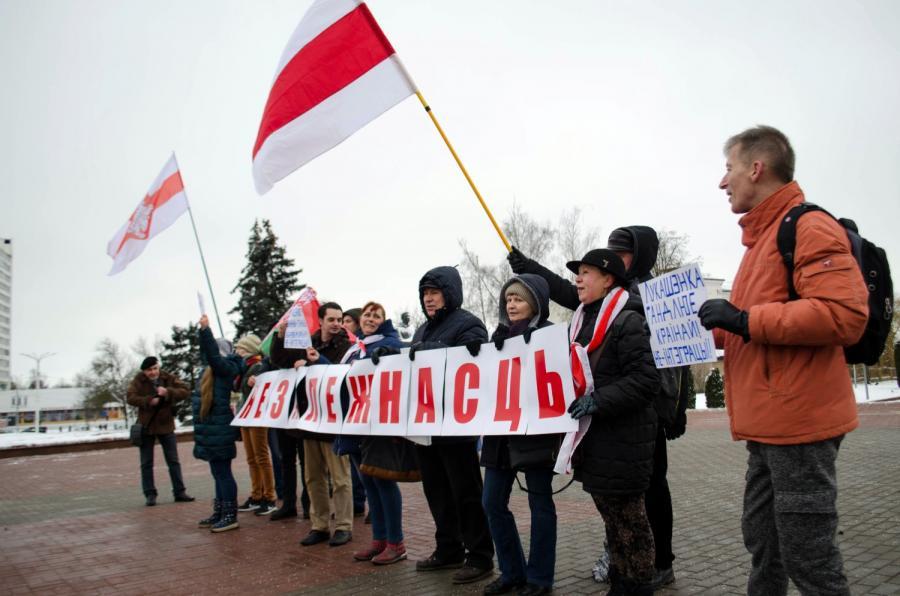 Віцебскі пікет 29 снежня