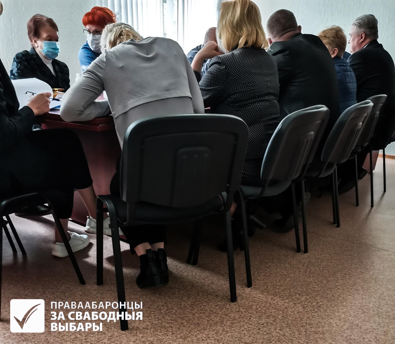 Ілюстрацыйнае фота пасяджэнні адной з камісій у Мінску