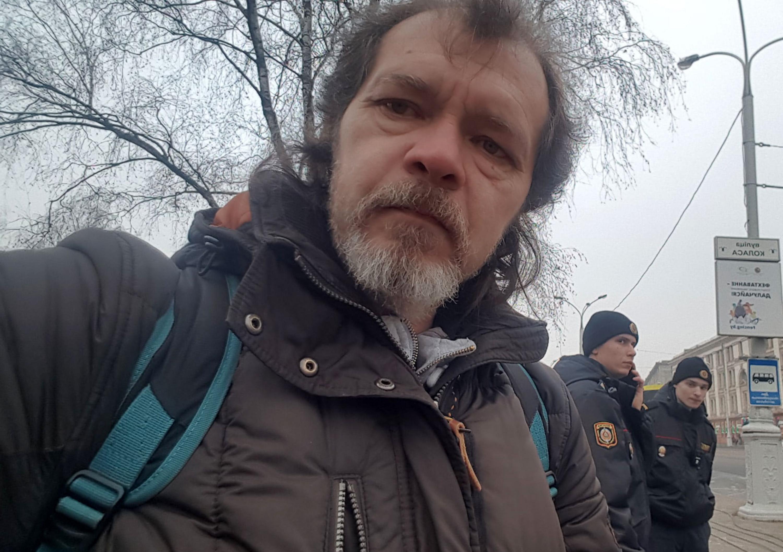 Журналіст Аляксандр Зянкоў. Фота з сацыяльных сетак.