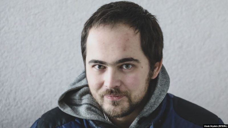 Siarhei Sparysh. Photo: Uladz Hrydzin / RFE/RL