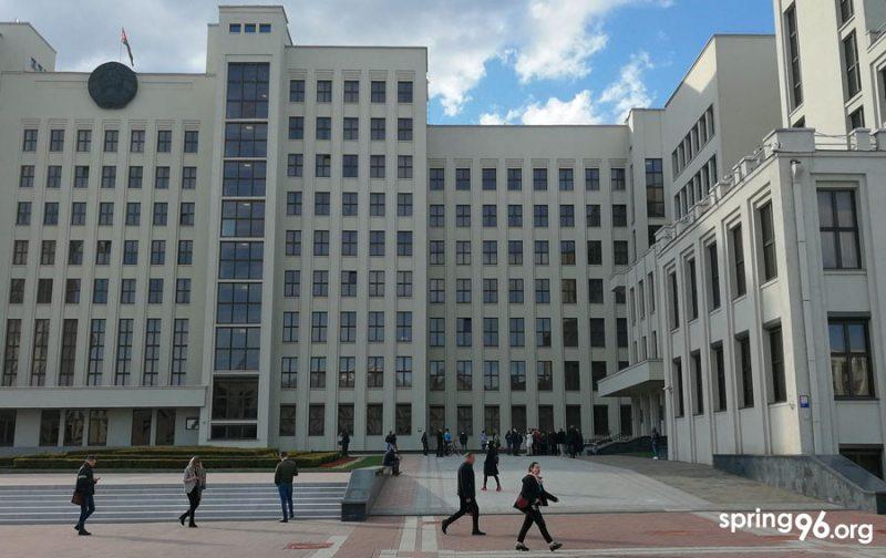 Дом правительства 15 мая 2020 года.