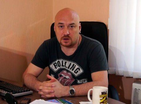 """Намеснік старшыні Праваабарончага цэнтра """"Вясна"""" Валянцін Стэфановіч."""