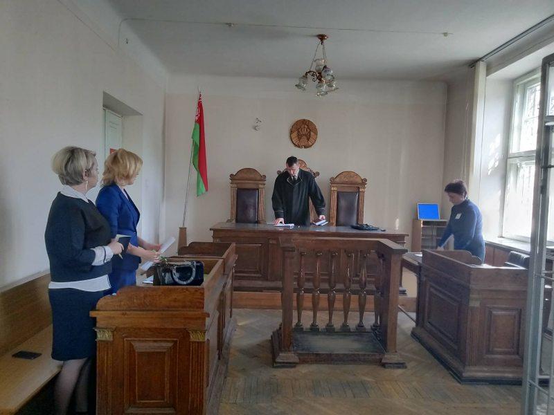 Перад пачаткаму суду над Таццянай Фесікавай