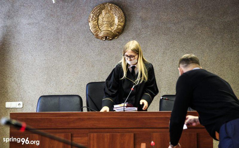 Судья Юлия Чиж. Фото: