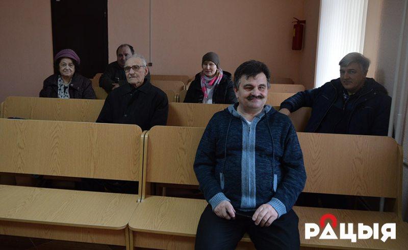 Зміцер Лупач на судзе 24 лютага
