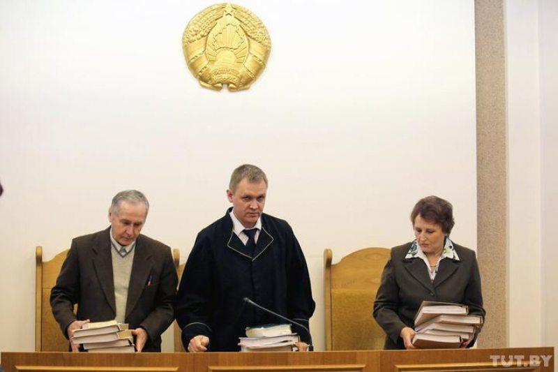Судья Петр Орлов во время заседания по другому уголовному делу