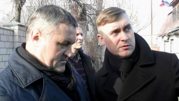 Леонид Судаленко и Андрей Стрижак. Фото: dw.com