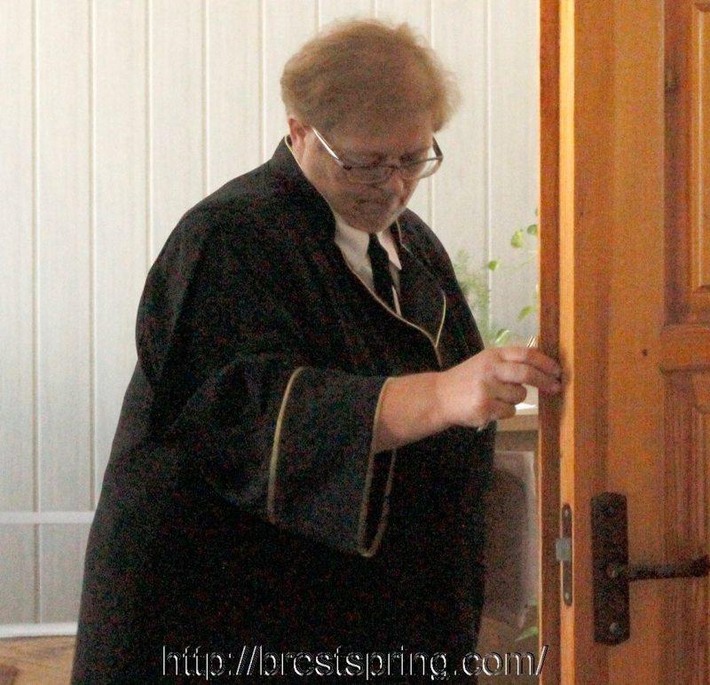 Суддзя абласнога суда Нiна Герасімук. Фота: