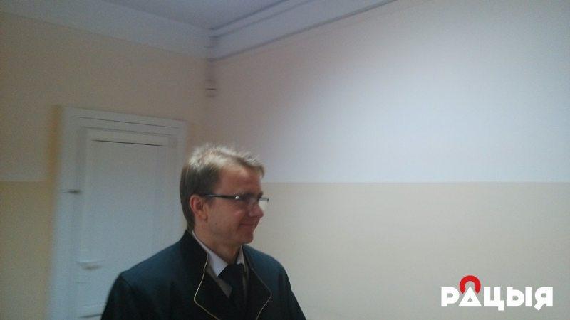 Судья Александр Савчук. Фото