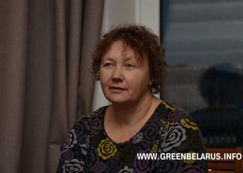 Ірына Сухій. Фота: greenbelarus.info