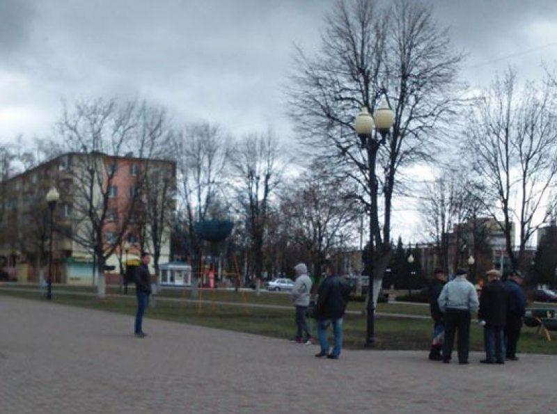 Марш недармаедаў у Cветлагорску 17 сакавіка 2017 года.