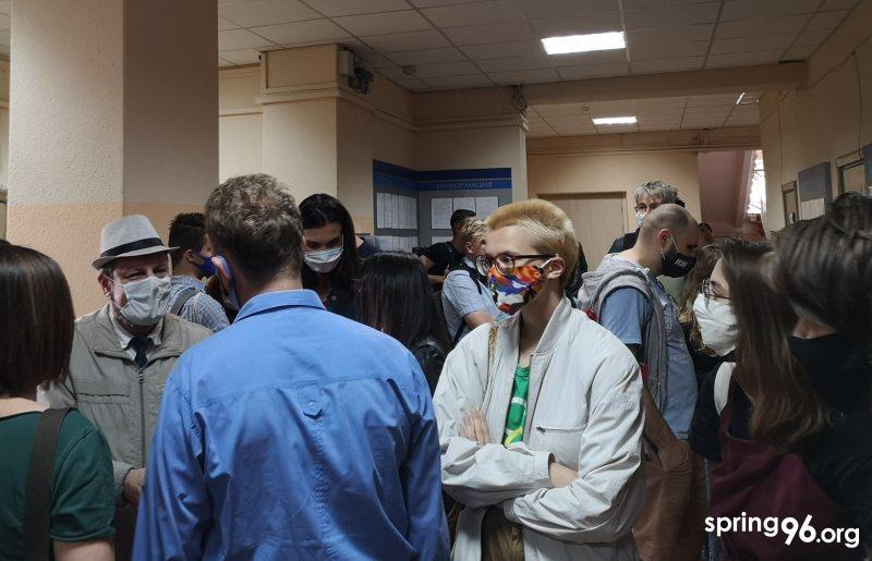 В суде Советского района 23 июля