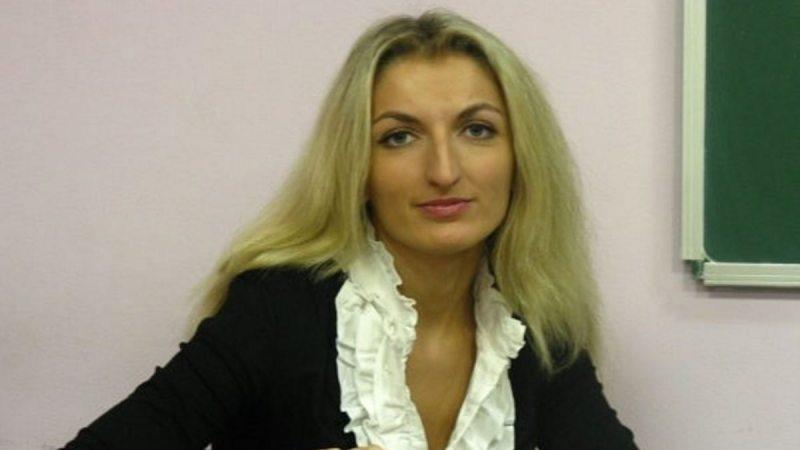 Следчая Таццяна Касынкіна. Фота з кнігі В. Каліноўскага