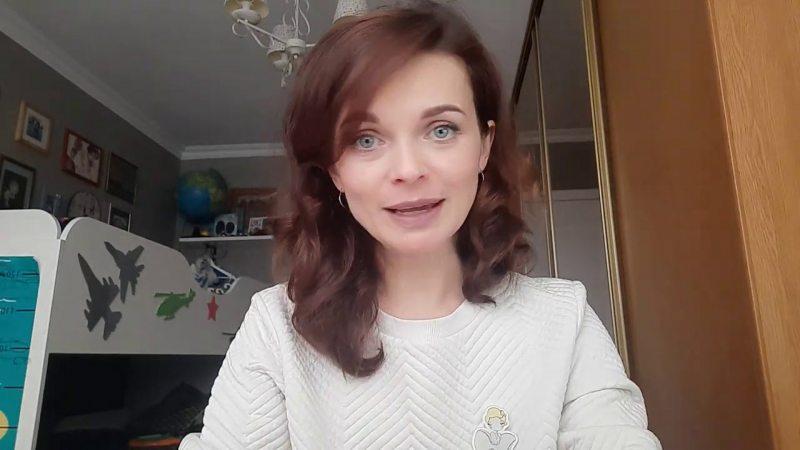 Блогерка Вольга Такарчук. Фота з сацыяльных сетак.