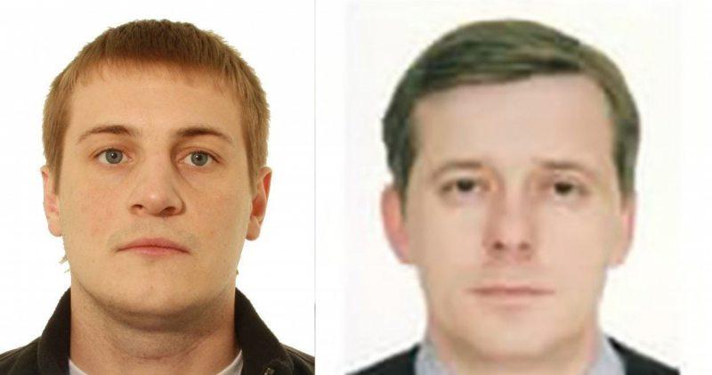 Сотрудники ГУБОПиК Иван Тарасик (слева) и Александр Алёкса (справа)