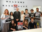Ales Bialiatski's meeting with colleagues from the FIDH office in Brussels