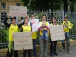 В Париже, Берлине и Берне прошли акции против смертной казни в Беларуси