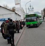 Віцебск: Апавяшчэннем пра выбары займаецца аўтапарк