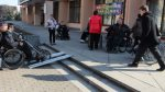 Babruisk: city center is not suitable for independent wheelchair trips (photos)
