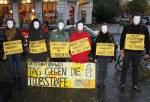 Акция против смертной казни в Берлине в октябре 2013 года.
