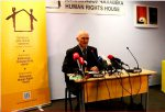 Complete video of Ales Bialiatski's press conference for Lithuanian media