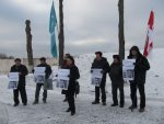 Brest pickets on Human Rights Day, 10 December 2013