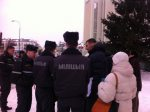 Brest police attempt to disrupt election campaigning rally