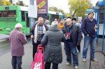 Інфармацыйная акцыя супраць смяротнага пакарання ў Гародні 10 кастрычніка 2017 года.