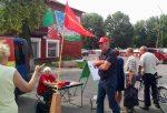 Збор подпісаў за вылучэнне кандыдатам Уладзіміра Сякеркі.
